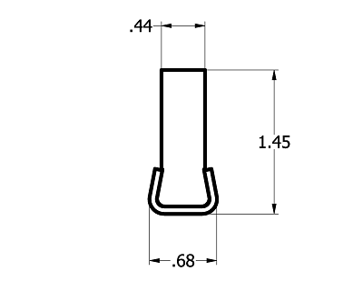 Stainless Steel #60 Extended Chain Guide